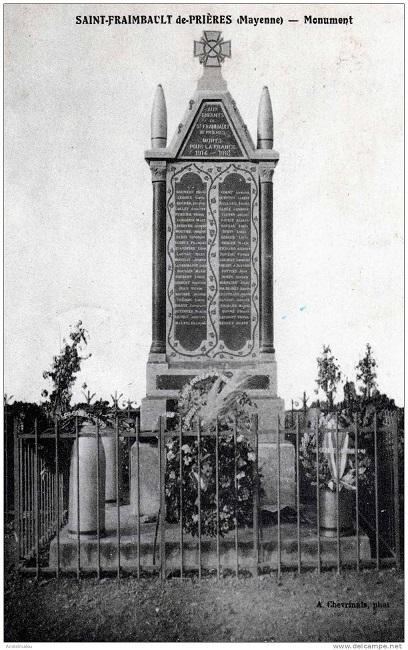 5 Après la guerre Monuments aux morts