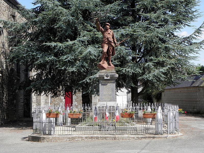 Chevaigné-du-Maine_(53)_Monument_aux_morts
