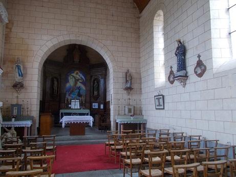 Eglise Bouessay 3