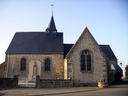 Eglise La Bazoges-Montpinçon