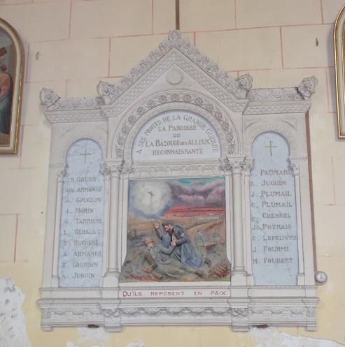 Eglise La Bazouges des Alleux