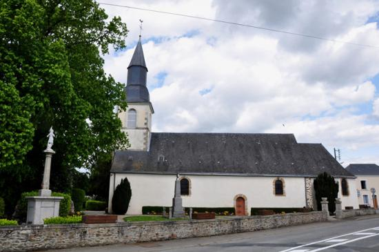 Eglise Laubrières