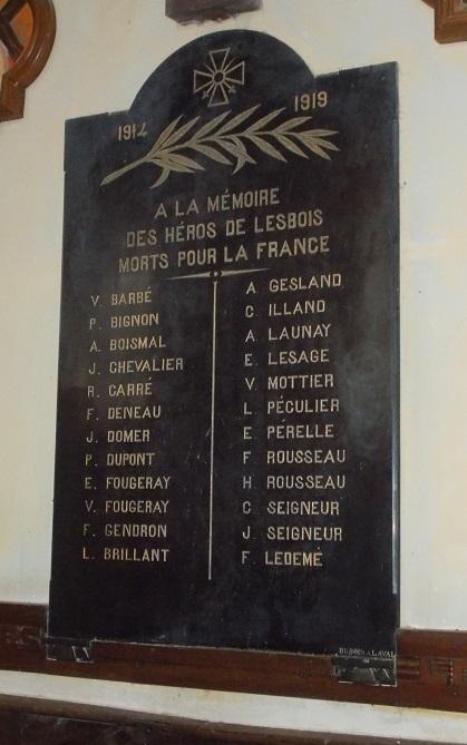 Eglise Lesbois 2 - Copie