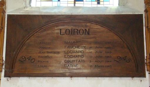 Panneau de Bois Eglise Loiron - Copie