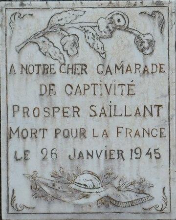 Plaque St Michel de Fein