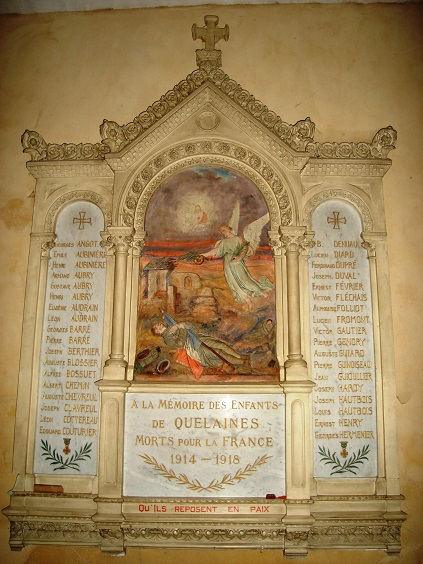 Quelaines église1