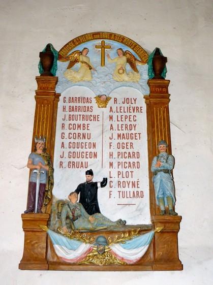 monument-aux-morts St Pierre sur ERve