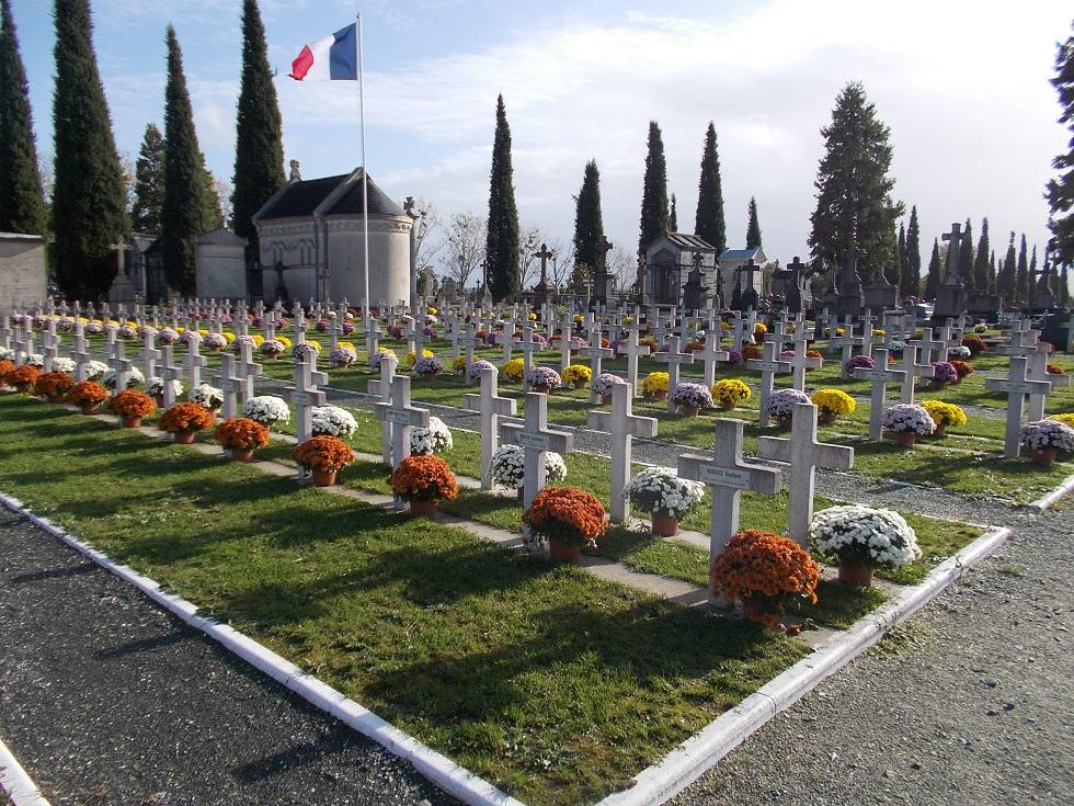 vue bas cimetière